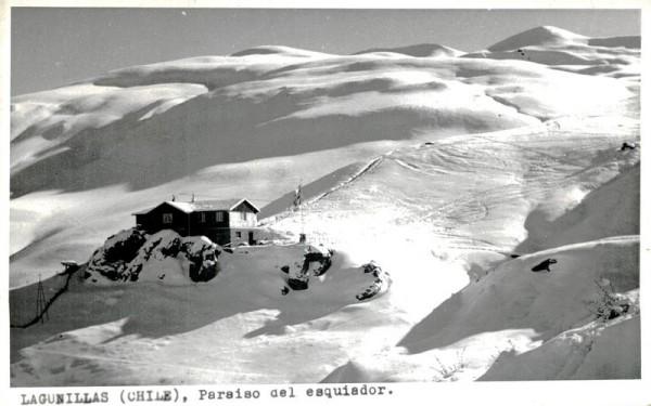 Lagunillas, Paraiso del esquiador Vorderseite