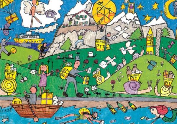 """""""Das Postgeschäft"""", eine Interpretation von Nicole Wieser (8) Vorderseite"""