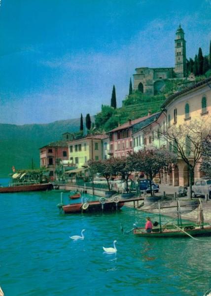 Morcote. Lago di Lugano Vorderseite
