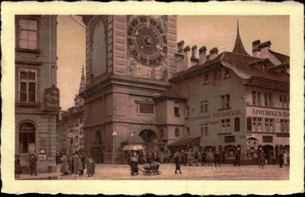 Bern, Zeitglockenturm Vorderseite