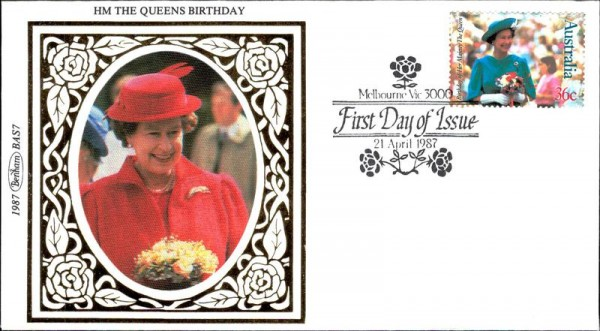 HM the Queens Birthday, 1987 Vorderseite
