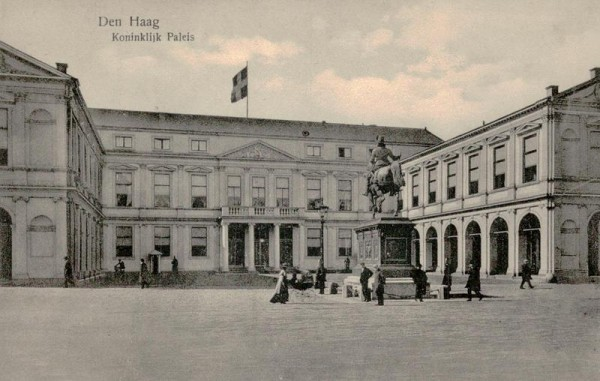 Den Haag, Koninklijk Paleis Vorderseite