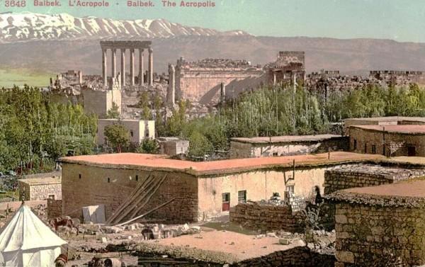 Tempelanlagen von Baalbek Vorderseite