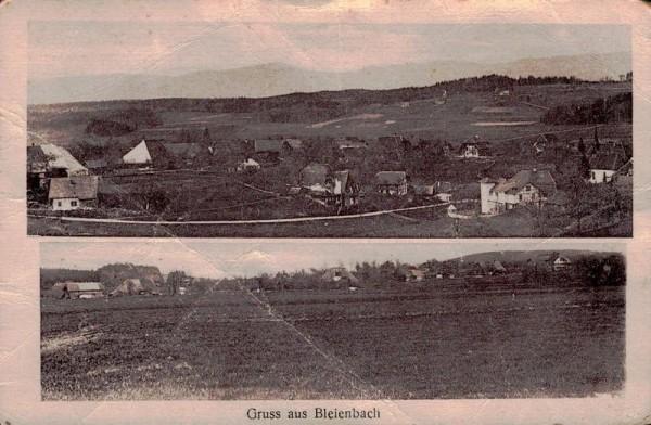 Gruss aus Bleienbach Vorderseite