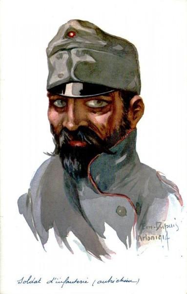 Soldat d infanterie, autrichien Vorderseite