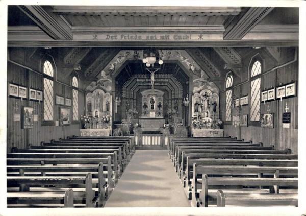 Wallfahrtskirche St.Antonius v. P. Egg bei Zürich. 1937 Vorderseite