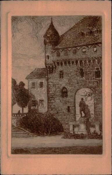 Lausanne, le château Vorderseite