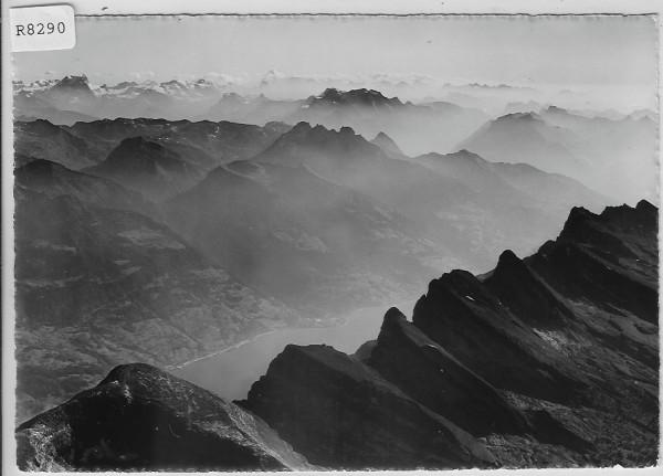 Flugaufnahme - Churfirsten-Wallensee-Glarner Alpen