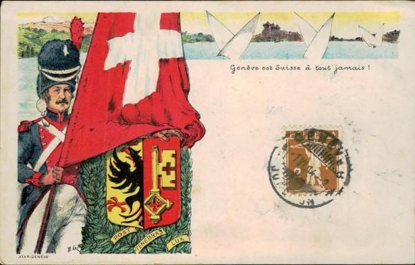 Genève est Suisse à tout jamais! Vorderseite