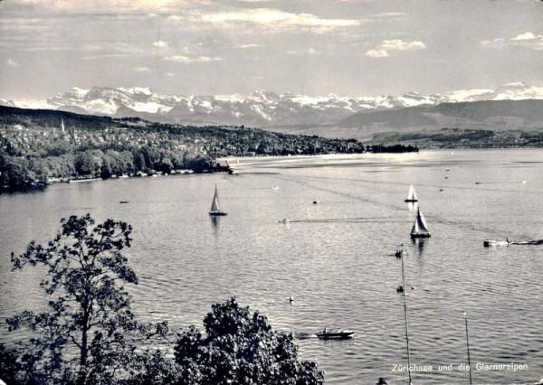 Zürich und die Glarneralpen Vorderseite