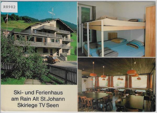 Alt St. Johann Rain - Haus der Skiriege TV Seen