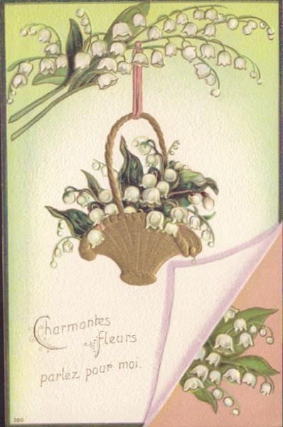 Charmantes fleurs parlez pour moi