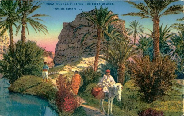 Au bord d'un Oued, Palmiers dattiers Vorderseite