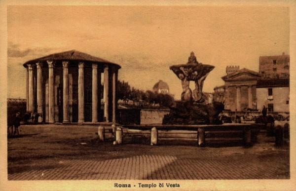 Tempel der Vesta, Rom