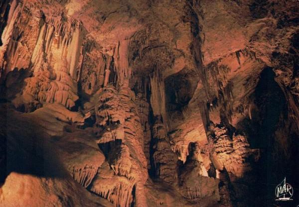 Fürstentum Monaco, Die Höhle im Exotischen Garten Vorderseite