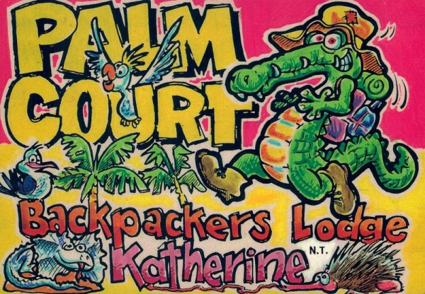 Palm Court Backpackers Lodge, Katherine N.T. Vorderseite
