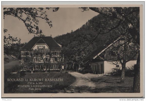 Läufelfingen - Soolbad u. Kurort Ramsach (742 m) Fam. Jenny