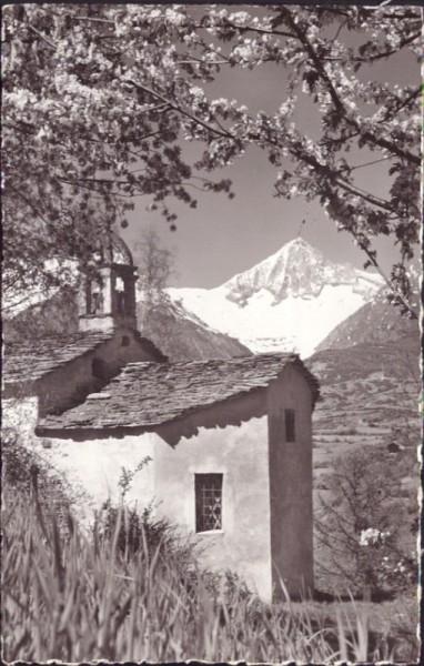 Capetschkapelle am Weg Unterbäch, Bürchen