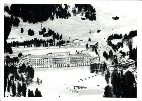 Davos - Kurhaus ev. Vorderseite