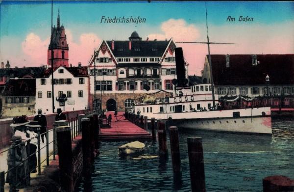 Am Hafen, Friedrichshafen. 1911