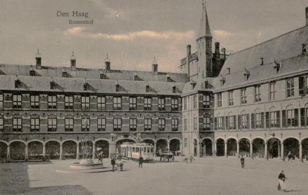Den Haag, Binnenhof Vorderseite