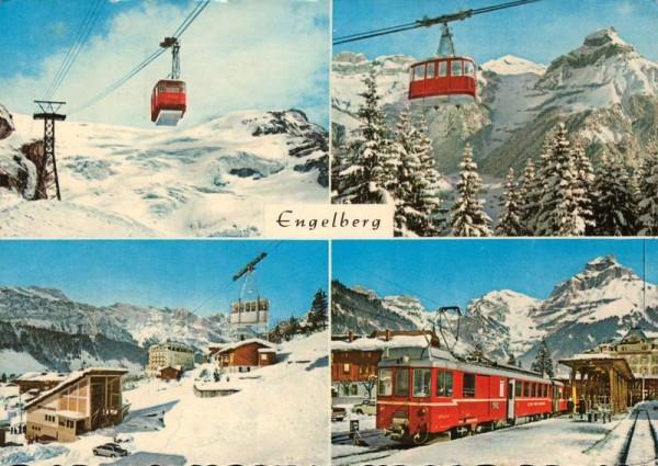 Trübsee-Titlisbahn, Gerschinalp-Trübseebahn, Brunnibahn, Luzern-Engelbergbahn Vorderseite