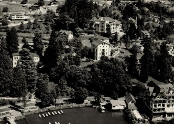 6353 Weggis LU, Hotel Central am See, Hotel Albana Weggis, Vierwaldstättersee Vorderseite