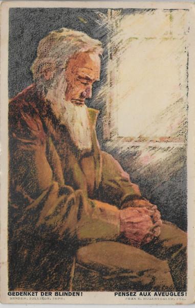 1923 Blinder Greis 20.VIII.23