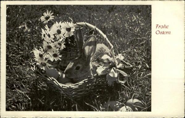 Frohe Ostern Vorderseite