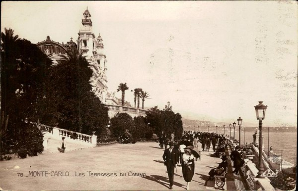 Monte-Carlo Vorderseite