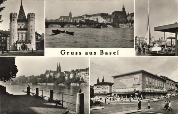 Gruss aus Basel Vorderseite