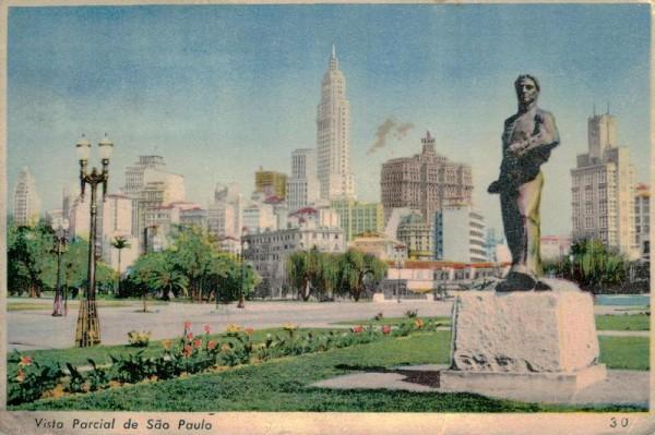 Sao Paulo, Vista Parcial Vorderseite