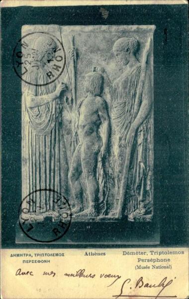 Athènes (Musée National) Vorderseite