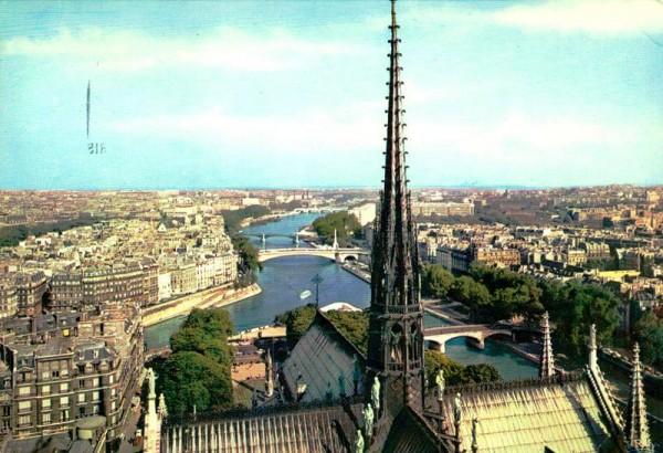 Paris, Flèche de Notre-Dame Vorderseite