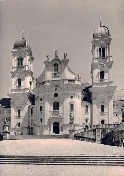 Stiftskirche Einsiedeln, Westfassade Vorderseite