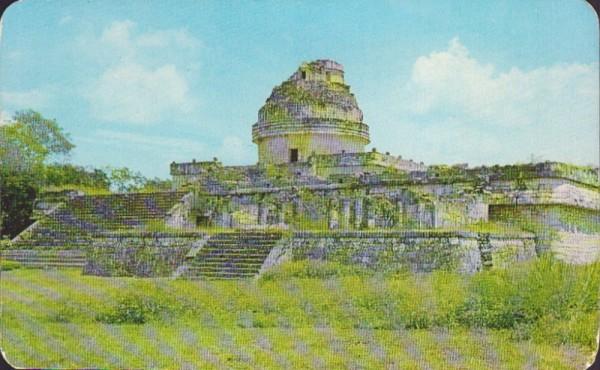 El Caracol, el Observatorio Astronomico Maya, Chichen Itza