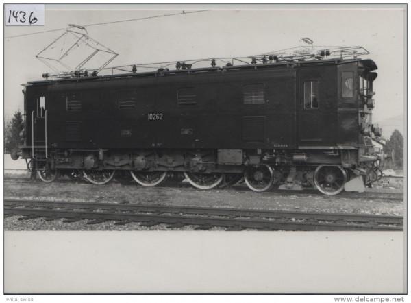SBB - CFF - Ae 3/6 III 10261-10271 1925-1926 89t, 1800 PS/ch, 90km/h - Photo Nr. 14