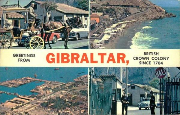 Gibraltar Vorderseite