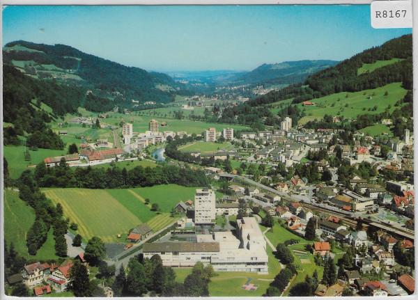 Flugaufnahme Wattwil mit Spital