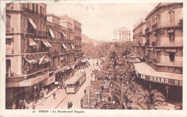 Oran - Le Boulevard Séguin