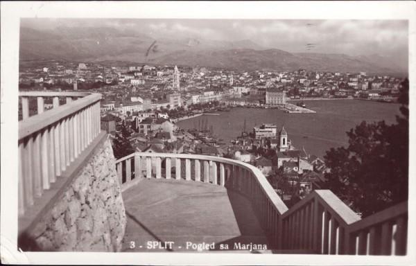 Split - Pogled sa Marjana