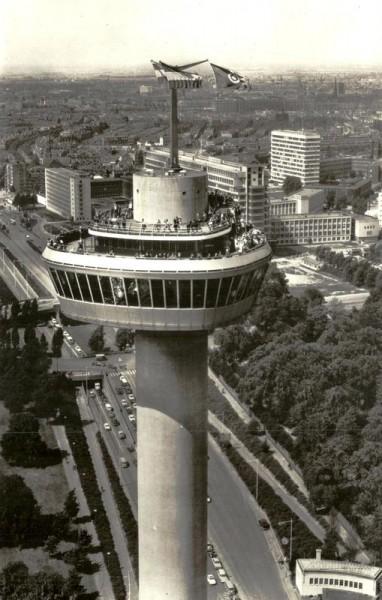 Rotterdam, Euromast Vorderseite