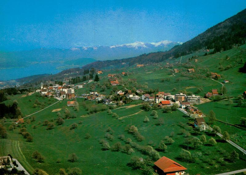 Feusisberg Sz Flugaufnahmen Flugaufnahmen Schweiz