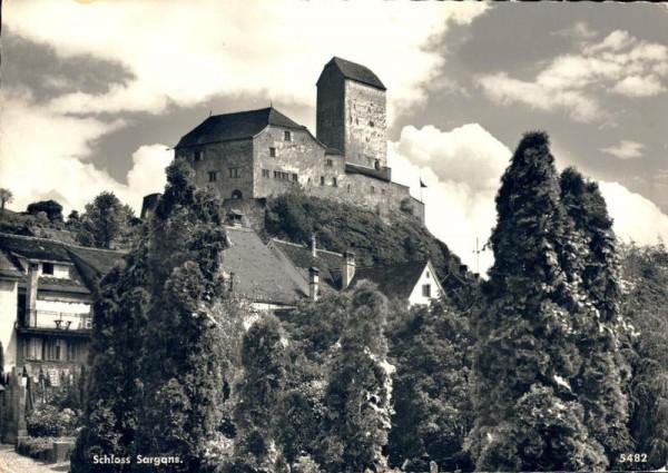 Schloss Sargans Vorderseite