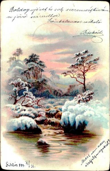 Landschaft Vorderseite