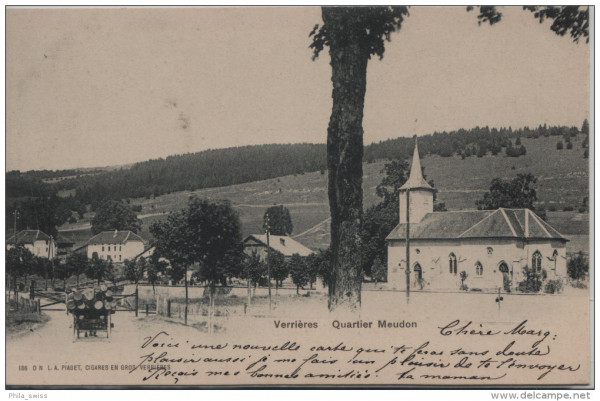 Verrières - Quartier Meudon - Holztransport