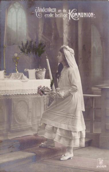 Andenken an die erste heilige Kommunion