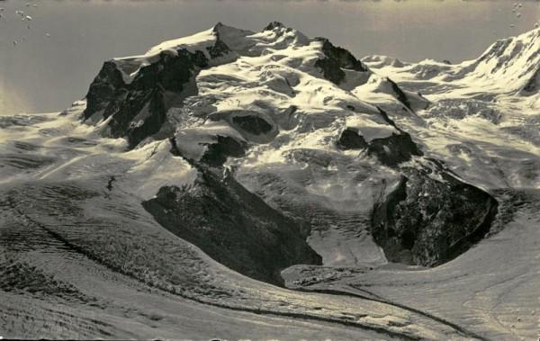 Zermatt: Gornergrat und Monte Rosa Vorderseite