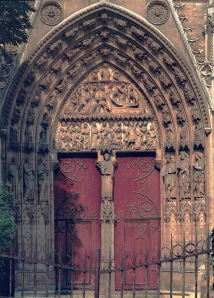 La Cathédrale Notre-Dame de Paris. Portail du transepts sud Vorderseite