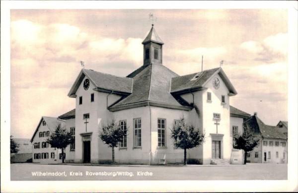 Wilhelmsdorf (Württemberg) Kirche Vorderseite